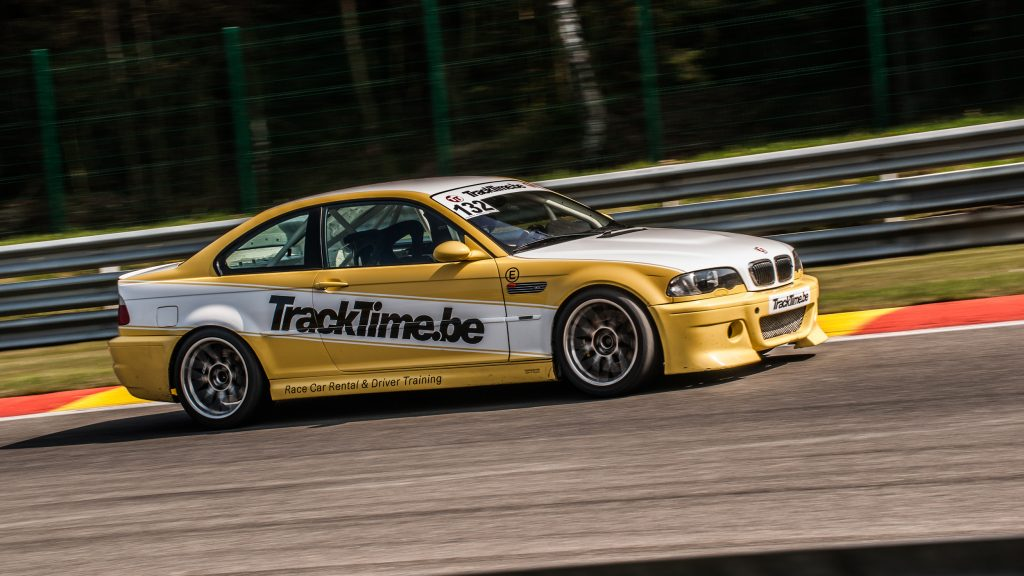 Spa Francorchamps Track Day Car Hire