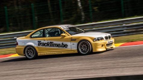 BMW M3 E46 trackday race auto verhuur zelf rijden op circuit spa francorchamps zolder nurburgring zandvoort