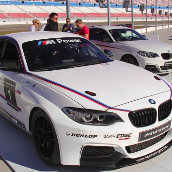 bmw m235i racing cup te huur TrackTime.be