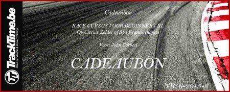 Cadeaubon Race Cursus Voor Beginners XL - Leren racen op circuit Spa Francorchamps en Zolder