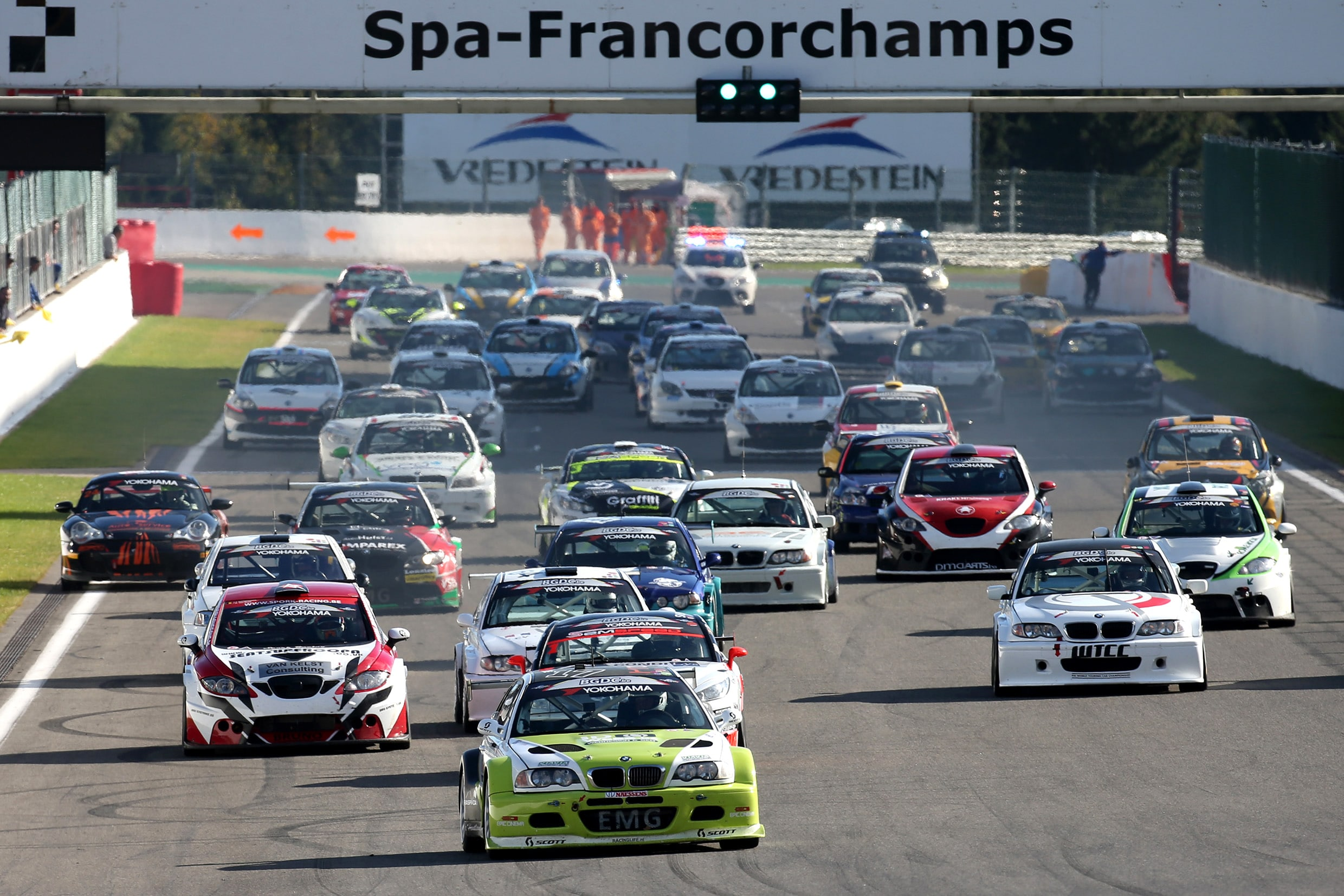 How to go racing at spa francorchamps