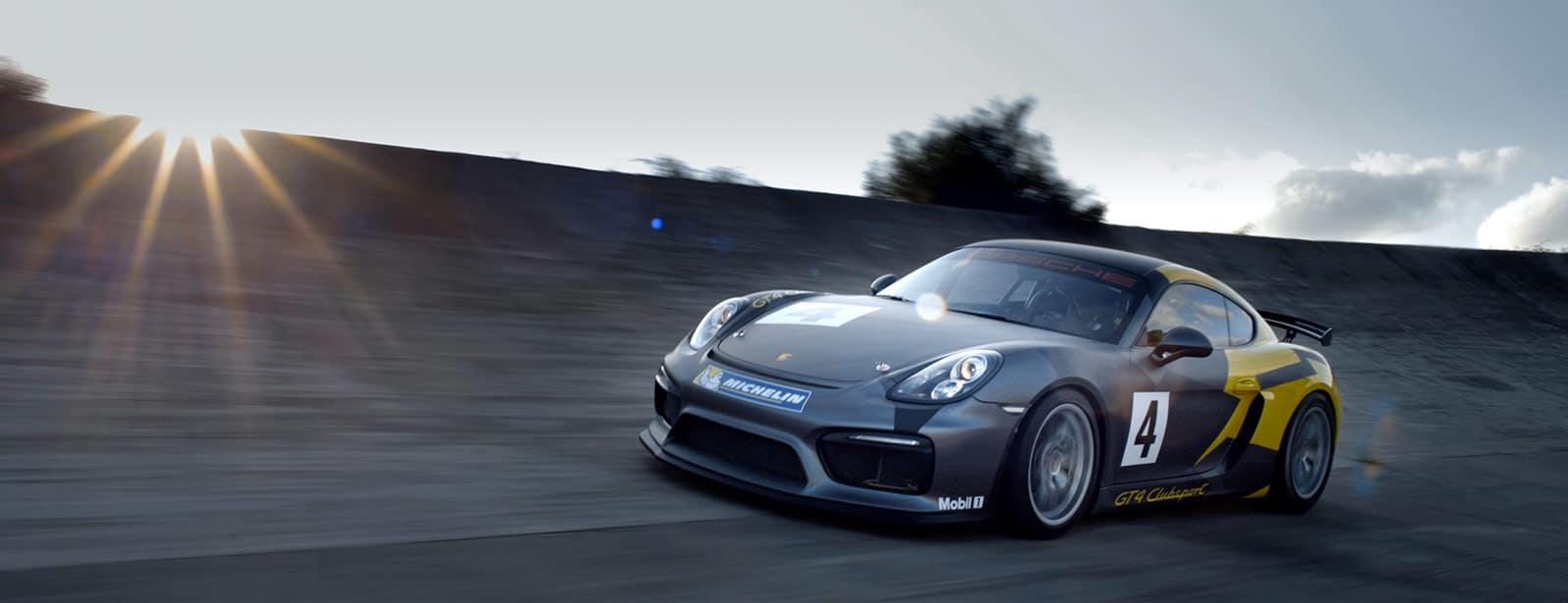 Porsche Cayman GT4 Clubsport rental